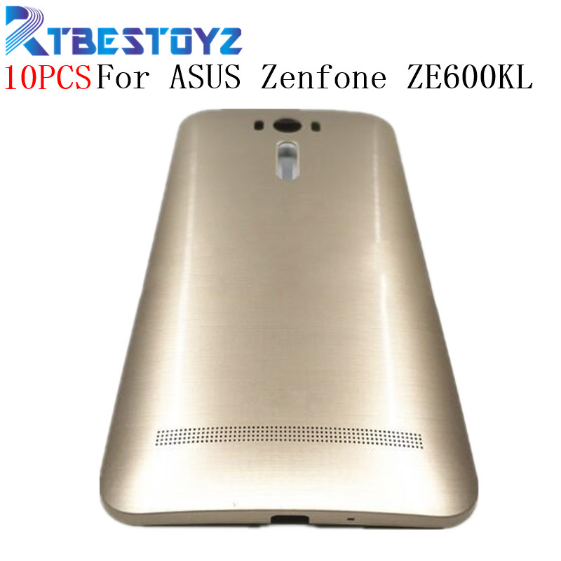 10PCS Battery Back Cover 6.0'' For ASUS Zenfone 2 Laser ZE600KL ZE601KL Z011D Battery Door Back Case With Power Button Housing image