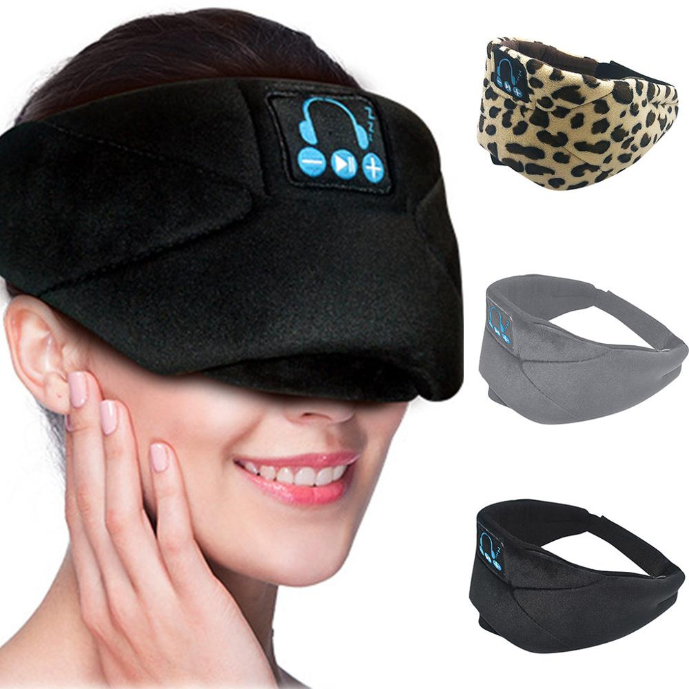 2019 New Earmuffs Wireless Bluetooth Music Goggles Wireless Stereo Speakers Microphone Headphones Sleep Eye Mask Y717