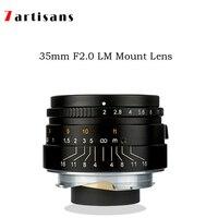 7 ремесленников 35 мм f2 Paraxial LM крепление Большая диафрагма портретный объектив для камер Leica M M, M240, M3, M5, M6, M7, M8, M9, M9P, M10