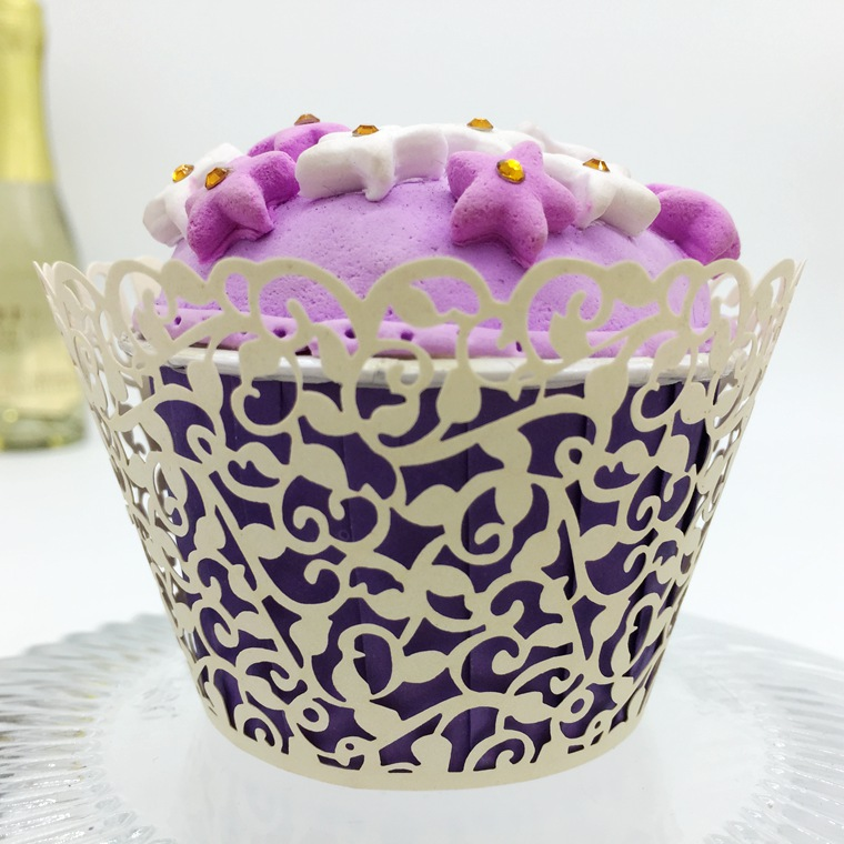 300pcs Laser Cut Hollow Lace Cupcake Cake Cup Paper Tray Decoration Supplies Wrappers Liner For Wedding Party Birhtday