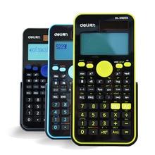 D82ES Scientific Calculator Dual Power Solar Power +Coin Batteries Calculator Free Shipping