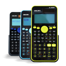 D82ES Scientific Calculator  Dual Power Solar Power +Coin Batteries Calculator Free Shipping