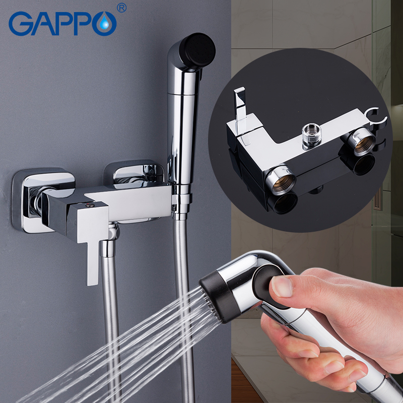 GAPPO Bidets bidet faucet toilet shower bidet sprayer faucet muslim shower wall mount ducha higienica gappo bidet faucet white toilet shower bidet hand shower faucet muslim shower toilet wall mount sprayer faucet bidet tap mixer