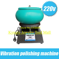 220/110V Voltage Large Jewelry equipment Vibrating Tumbler Tumbling Polishing machine Hot Sale Jewellery Polisher,Jewelry tool