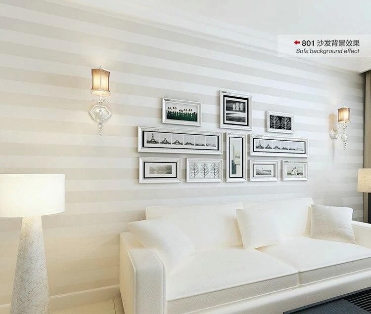 product description papel pintado rayas horizontales - Papel Pintado Rayas Horizontales