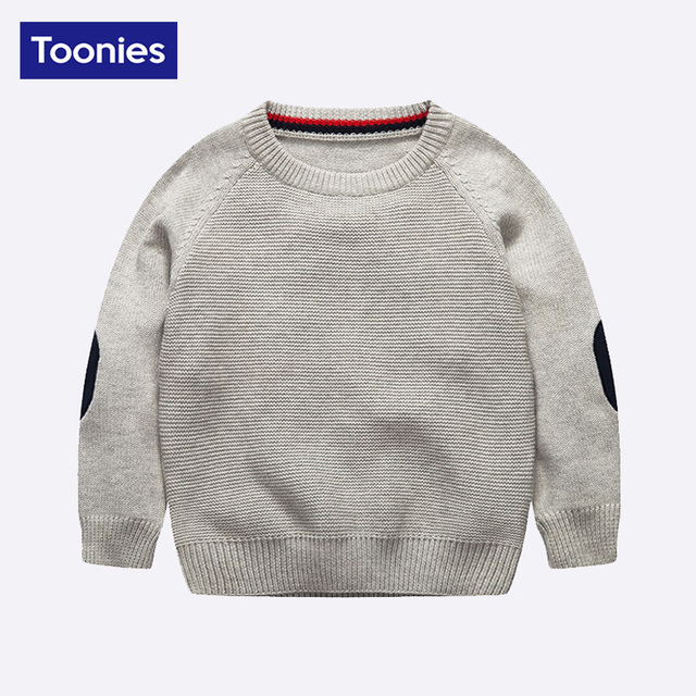 Hot Sale High Quality 100% Cotton Kids Outerwear Boys Spring Autumn Fashion Sweater 2017 New Brand Children's Clothes 2 Color