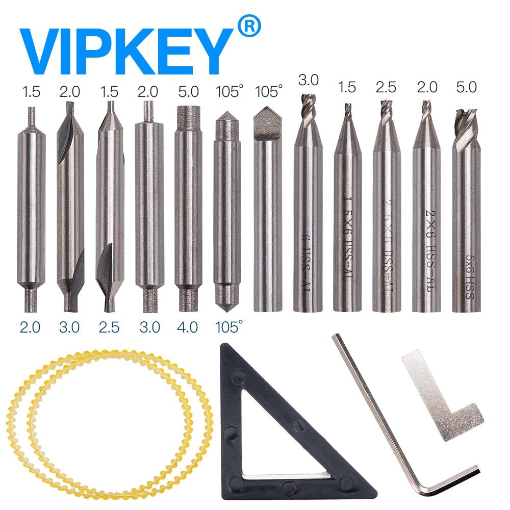 drilling vertical Locksmiths tools set cutter blade for 368A vertical key machine drill bit cutter цены
