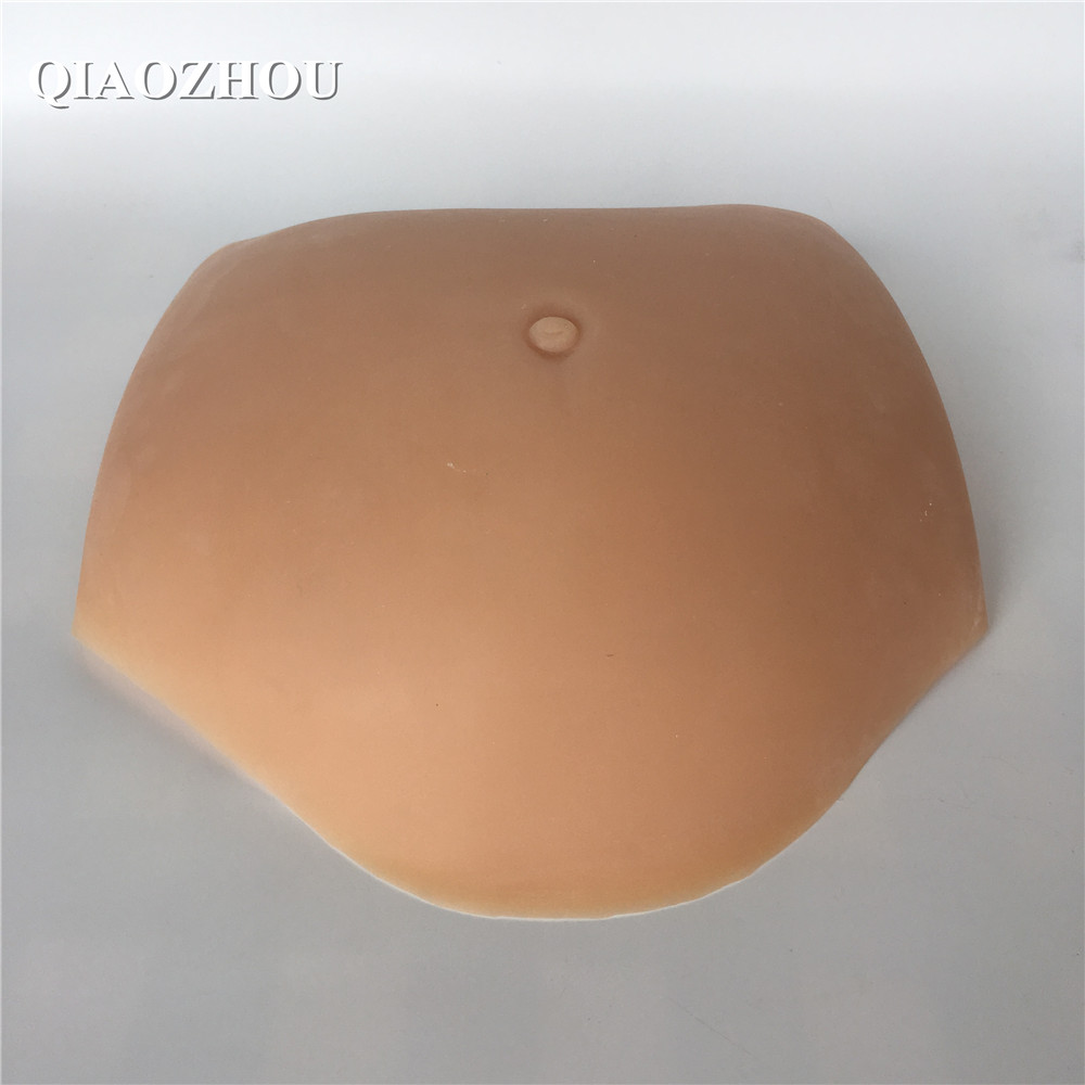 1500g silicone pregnant belly
