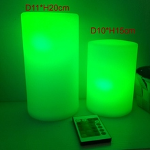 D11*H20cm LED Mood Light 16 Colour Changing Night Bedside Lamp Rechargeable Bedroom for Children 1pc