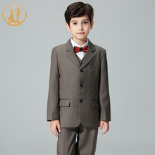 new arrival three piece  boys tuexdeo  boys suit  for flower boy wedding