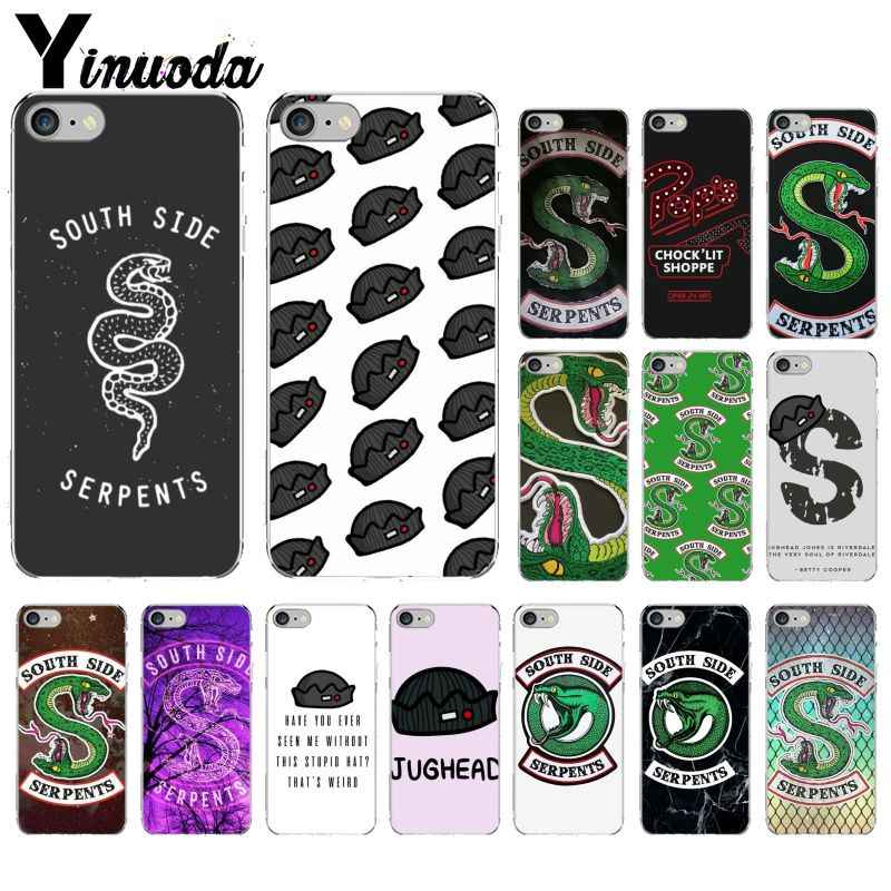Riverdale South Side Serpents DIY Printing Drawing Phone Case cover Shell for Apple iPhone 8 7 6 6S Plus X XS MAX 5 5S SE XR