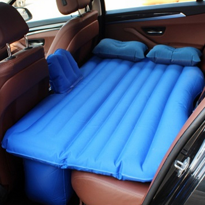 Outdoor Camping Rest Cushion Oxford Vehicle Inflation Car Back Row Portable In Air Picnic Mad Travel Bed Mattress Sleeping Bag
