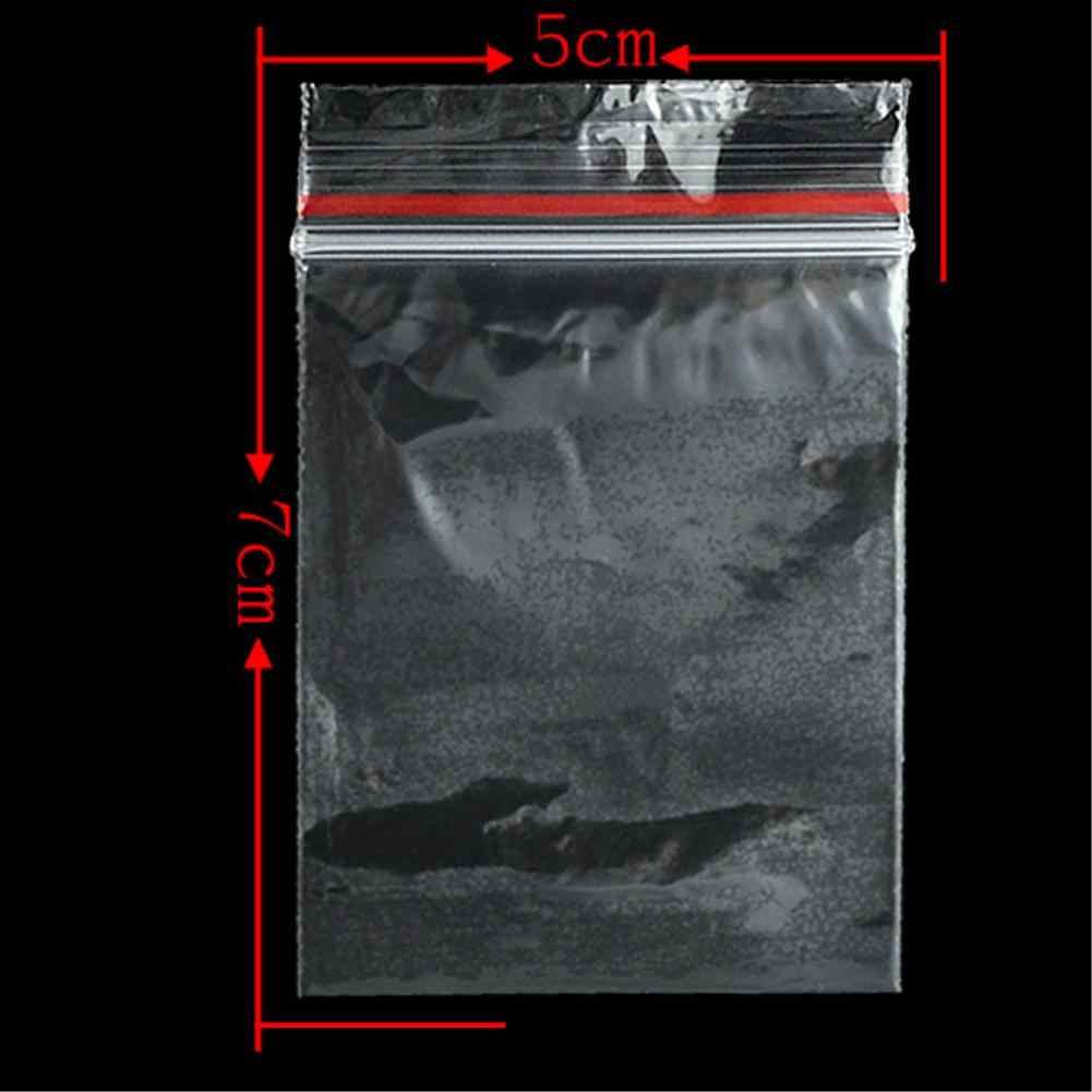 17 размеров, 100 шт., герметичные прозрачные пластиковые пакеты с застежкой-молнией, полиэтиленовые пакеты с застежкой-молнией, многоразовые конфетные пакеты для хранения закусок