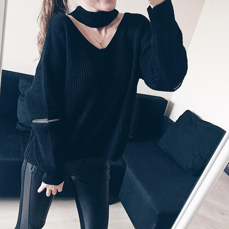 Dream Vine Winter Spring Women Sweaters Pullovers Casual Loose Knitted Sweater Tricot Pullover Jumper Oversized Mujer Sweater