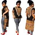 2016 Африканских Платье Выскочка Женщины Сексуальный Плотный Национальный Ветер Классический Высокой Упругой Печати Развивать нравственность Платье Горячий Стиль