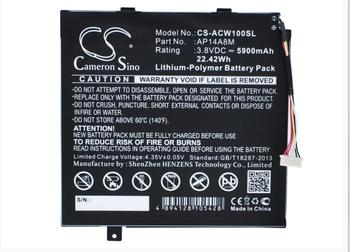 Cameron Sino 5900mAh battery for  ACER A3-A20FHD Aspire Switch 10 Iconia Tab 10 A3-A20 NTL4TET016 SW5-011 AP14A8M