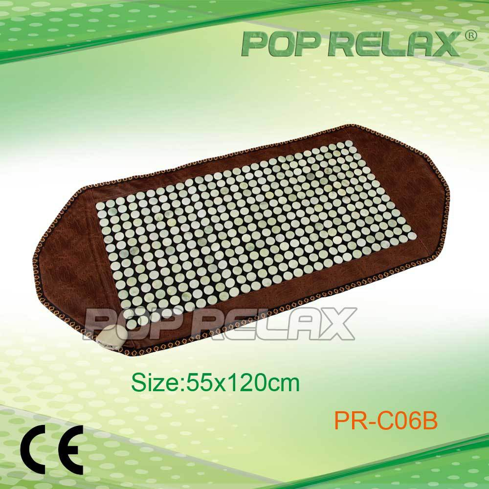 POP RELAX jade products thermal heating therapy mattress PR-C06B new PVC 55x120cm CE