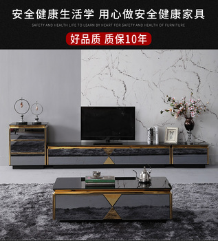 TV Stand black / white shiny Living Room TV monitor stand mueble stalinite cabinet mesa+tv table stand + Coffee centro Table mueble computer painel para madeira soporte de pie european wodden living room furniture meuble monitor stand table tv cabinet
