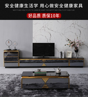 TV Stand black / white shiny Living Room TV monitor stand mueble stalinite cabinet mesa+tv table stand + Coffee centro Table