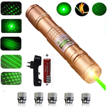 Powerful green Laser 303 Pointer 10000m 5mW Hang-type Outdoor Long Distance Laser Sight Powerful Starry Head Burning Match very100 green laser genetics nd3 x40 long distance laser designator pointer with mount