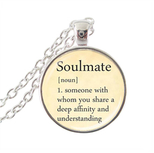 Buy pendant definition and get free shipping on aliexpress new 2018 fashion letter necklace quote pendant dictionary definition of soulmate necklaces for women statement necklace mozeypictures Gallery
