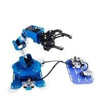 6DOF Robot Arm 6 алюминиевая ось Роботизированная рука с сервоприводом Arduino Scratch