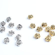 LingXiang 7mm 63pcs Every bead gasket DIY men and women bracelet necklace ankle Accessories