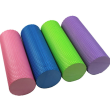 Floating-point foam roller EVA Yoga Column Massage axis Haltere Pilates column foam roller 30CM