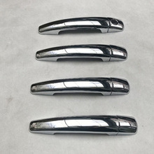 For Peugeot  207 Chrome Car Door Handle Cover Trim Styling auto accessories