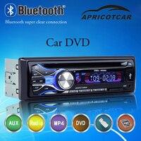 DVD Player Do Carro Do Bluetooth do carro DVD HD Display Hands-free Suporte Rádio U Cartão Disk/SD/AV/Vídeo de Carregamento USB Interface de AUX