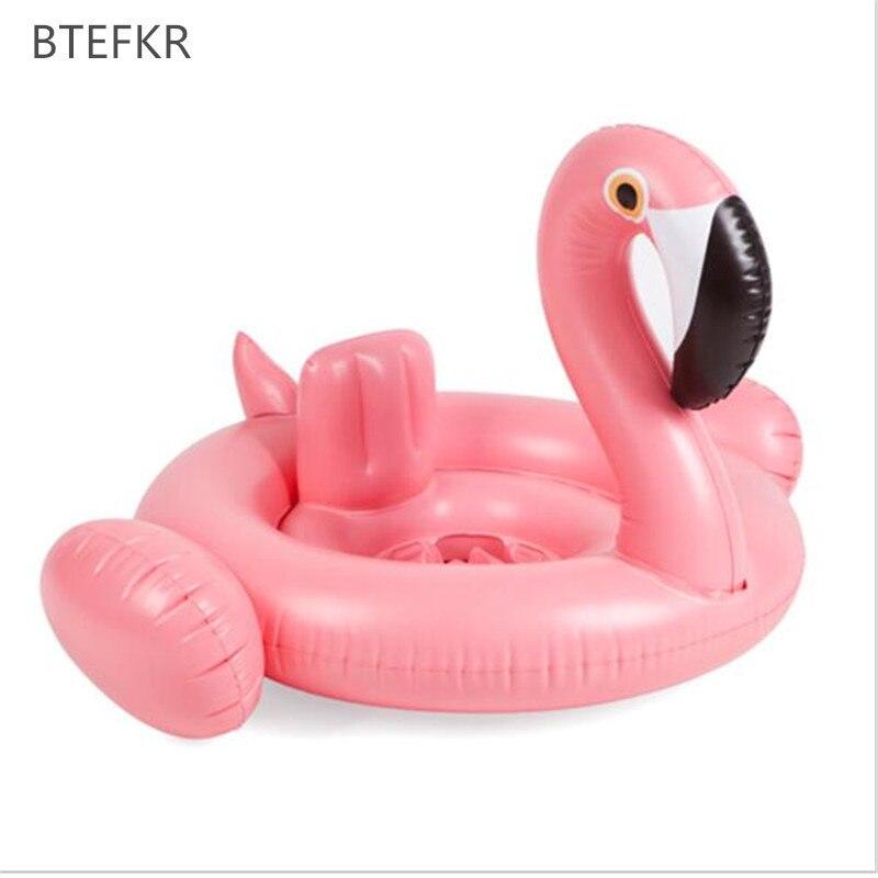 Лето 2018 надувной фламинго детское сиденье Float Детское плавание поплавок Лебедь бассейна детские летние вода Fun бассейн игрушки для детей пл...