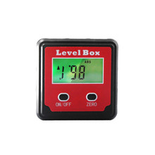 High quality Red 2 key precise electronic digital dipmeter slope meter leveler angle box protracto