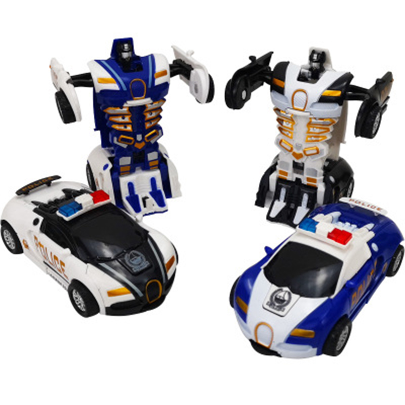 Hot One-key Collision Deformation Vehicle Toys Automatic Transform Robot Plastic Model Car Funny Toys For Boys Amazing Gifts Hot One-key Collision Deformation Vehicle Toys Automatic Transform Robot Plastic Model Car Funny Toys For Boys Amazing Gifts
