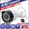 3 28BigSale CCTV AHD Camera SONY IMX323 720P 960P 1920 1080P 3000TVL Analog FULL HD Waterproof