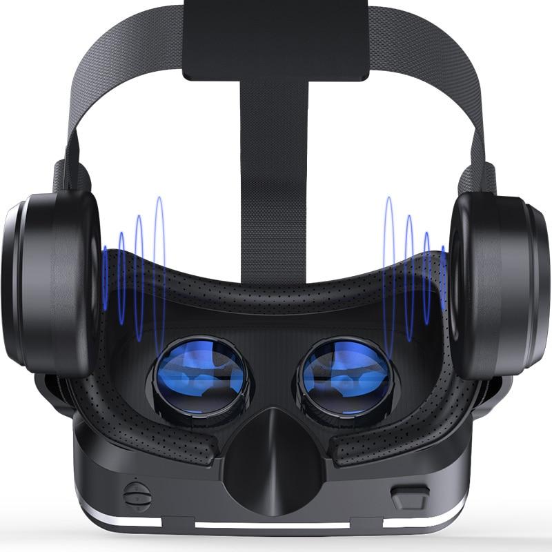 Vitalual Reality Shinecon 6.0 블루투스 헤드셋 VR 안경 헬멧 - 휴대용 오디오 및 비디오 - 사진 4