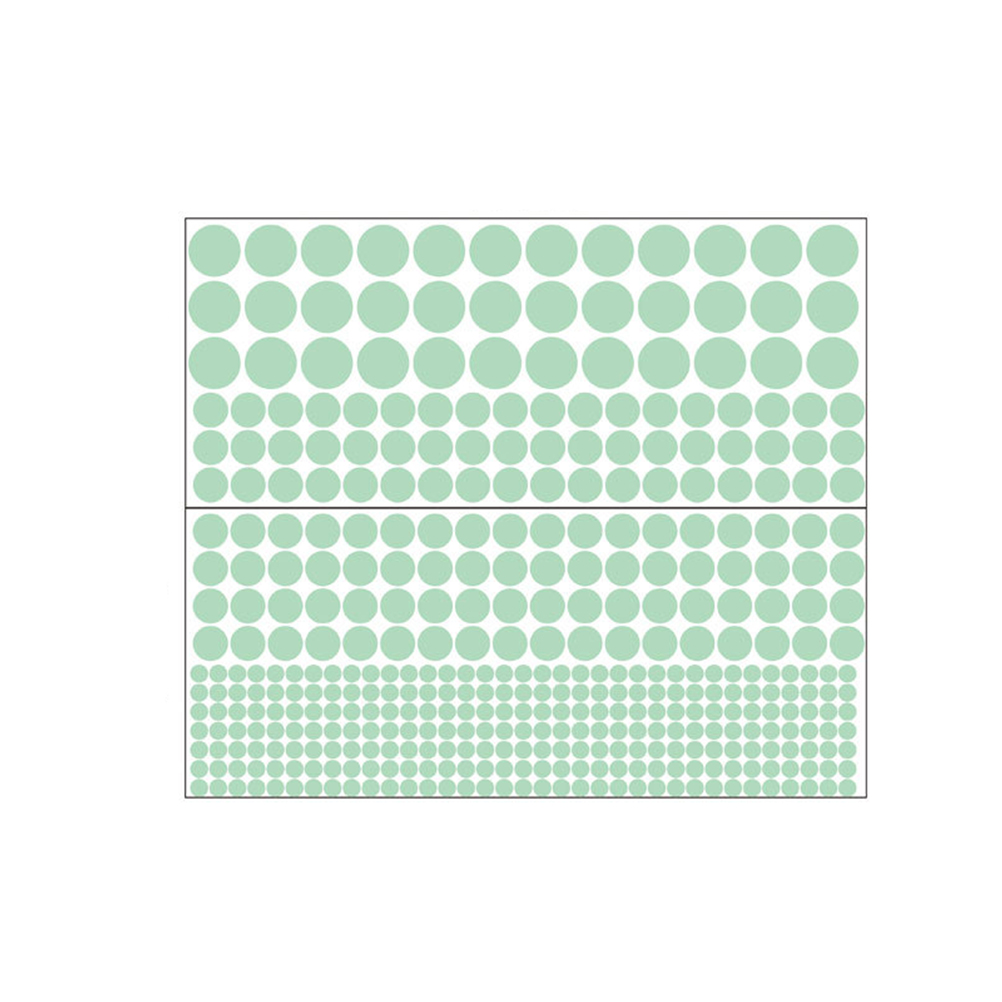 407pcs Glow in the Dark Dot Wall Stickers Removable Dot