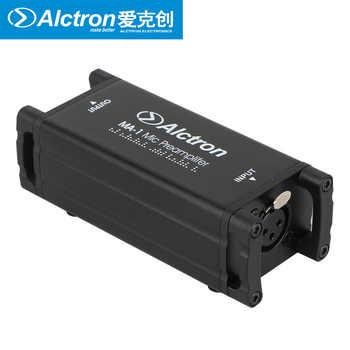 Professionelle Mic Vorverstärker Alctron MA-1 Dynamische/passive aluminium band mikrofonverstärker