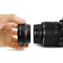 Профессиональный 52 мм 0.45 x широкоугольный Макро объектив для Nikon D3200 D3100 D5200 D5100 черный супер широкий угол