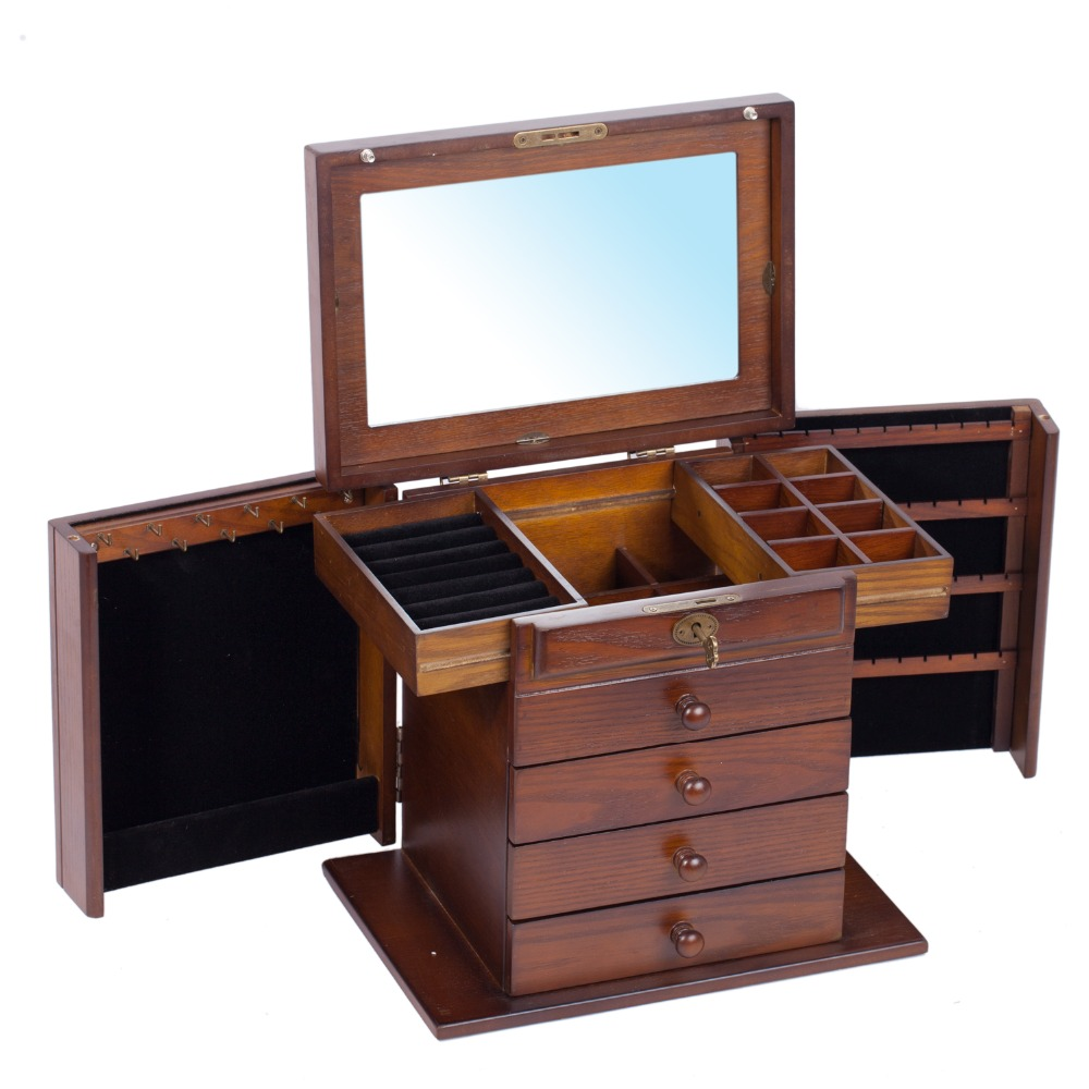 ROWLING Large Wooden Storage Boxes