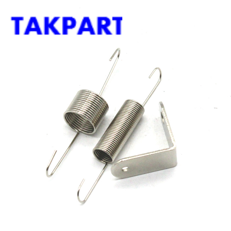 US $9 89  TAKPART Chrome Throttle Return Spring Bracket & Dual Springs SBC  BBC For Chevy Ford 302 350-in Air Intakes from Automobiles & Motorcycles on