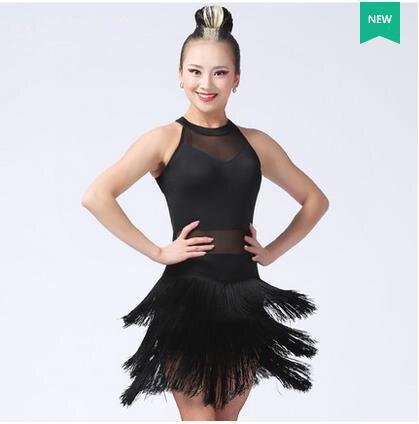 b551aeb07 New latin dance costumes sexy senior gauze tassel latin dance dress for women  latin dance dresses
