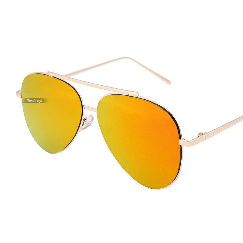 987bd5702f6cf4 Mode De Luxe Hommes lunettes de Soleil Femmes Marque Designer Gafas  Classique En Métal Pilote Lunettes de Soleil Miroir Réfléchissant Lentes De  Sol