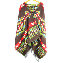 jzhifiyer YX102 Fashion Hooded Winter Scarf Cashmere Like Shawl Wrap Womens Ponchos and Capes