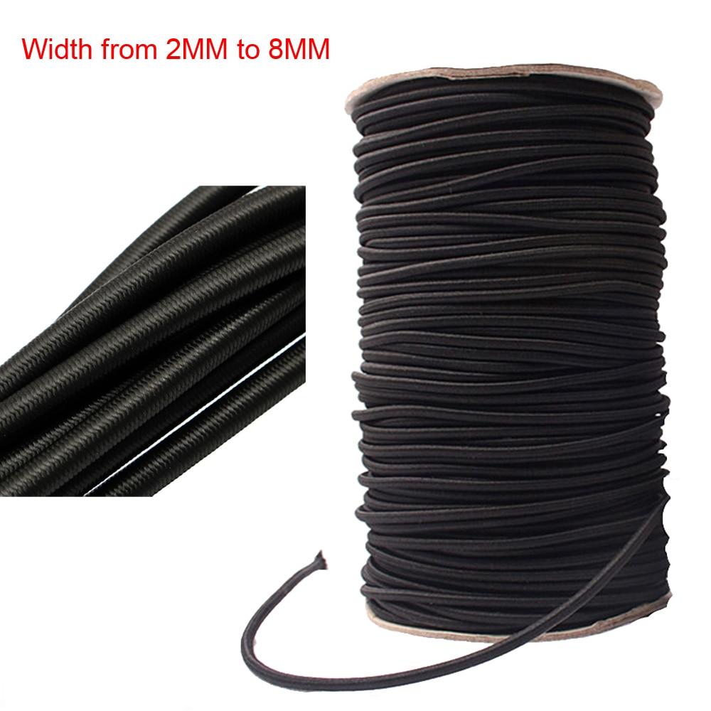 Round elastic 2mm,2 mm Round Elastic Cord white b Elastic band stretch cord