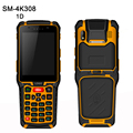 New 3.5 inch industry handheld data collector wireless 4G full network mobile Data Terminal 1D Laser barcode scanner Android PDA