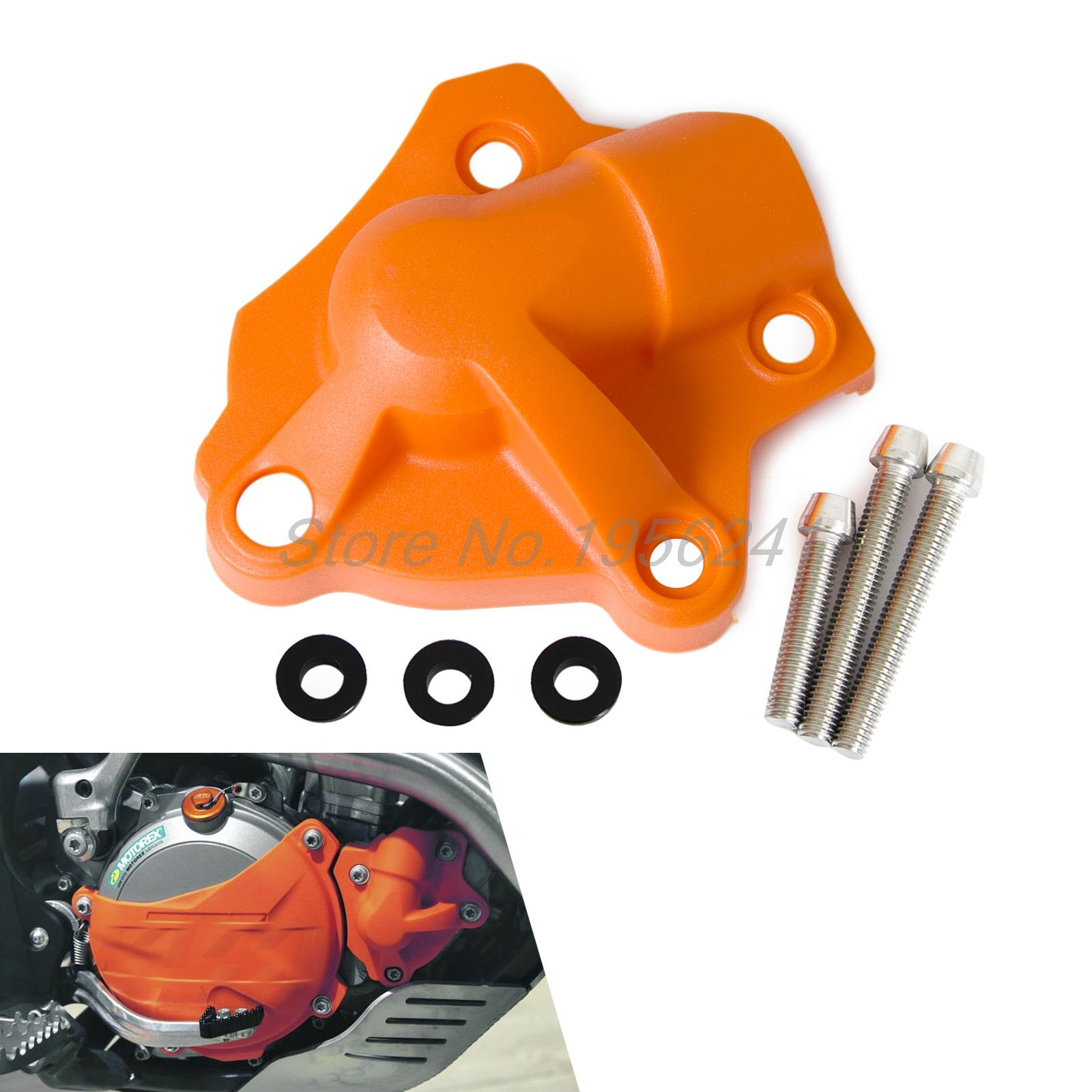 Water Pump Cover Protector Fits for KTM  350 XCF-W FREERIDE 350 2013 2014 2015 2016 aluminum water cool flange fits 26 29cc qj zenoah rcmk cy gas engine for rc boat