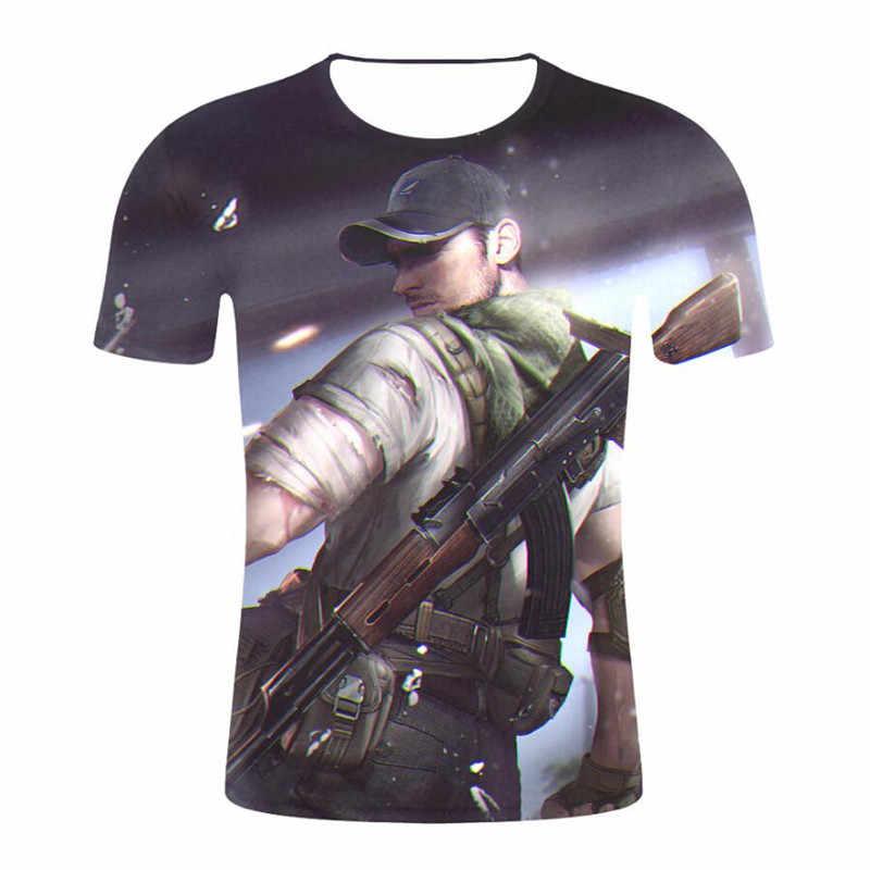 2019 3D принт летние популярные игры бесплатная яркие футболки для женщин/для мужчин короткий рукав модные футболки огонь повседневное футболк