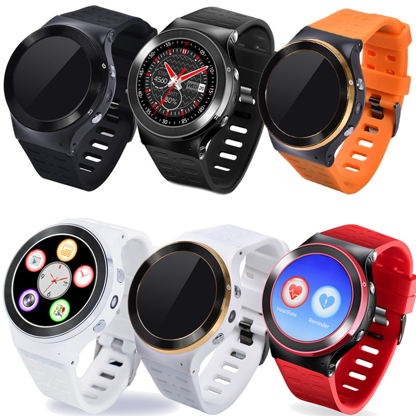 2018 New Brand digital Watch S99 GSM 3G Quad Core Android 5.1 Smart Phone Watch GPS WiFi Bluetooth 8GB #0718 стоимость