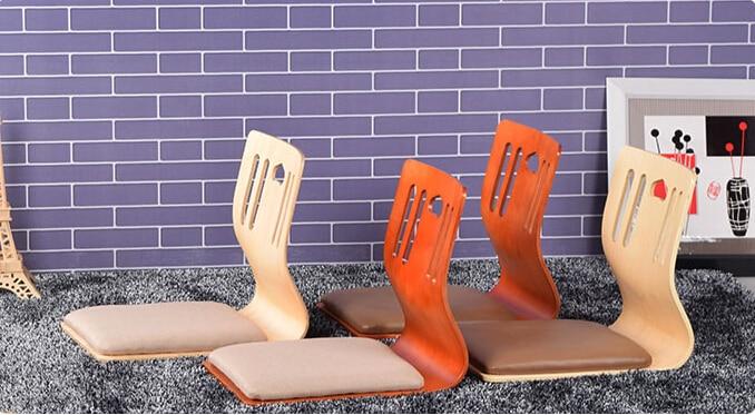 купить (4pcs/lot) Luxury Modern Dining Room Furniture Zaisu Chair for Japanese Korean Restaurant Dining Chair Upholstered  Seat Pad по цене 9150.78 рублей