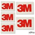 5Pcs Soft 3M Wool Squeegee Vinyl Film Car Sticker 3D Carbon Fiber Wrapping Scraper Installation Tool A50